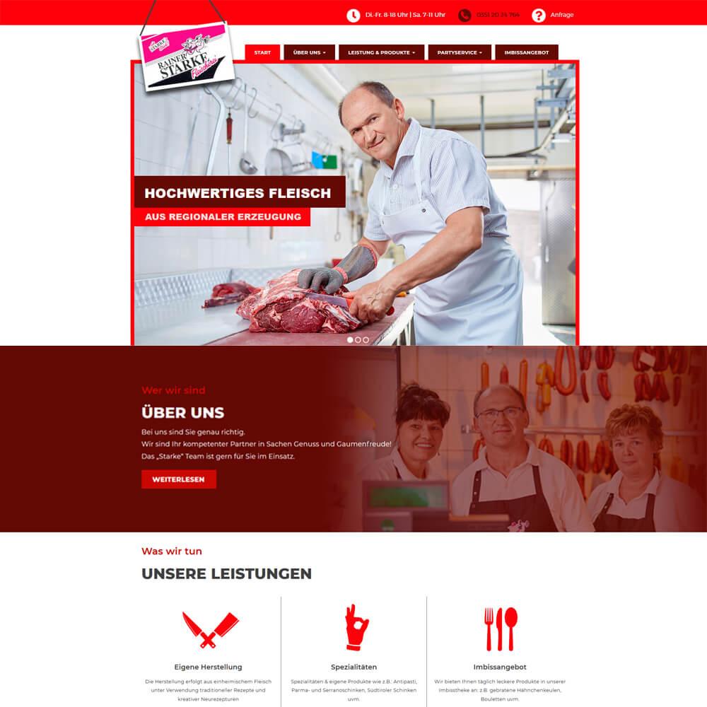 Wordpress mit WooCommerce Anbindung - fleischerei-starke.de