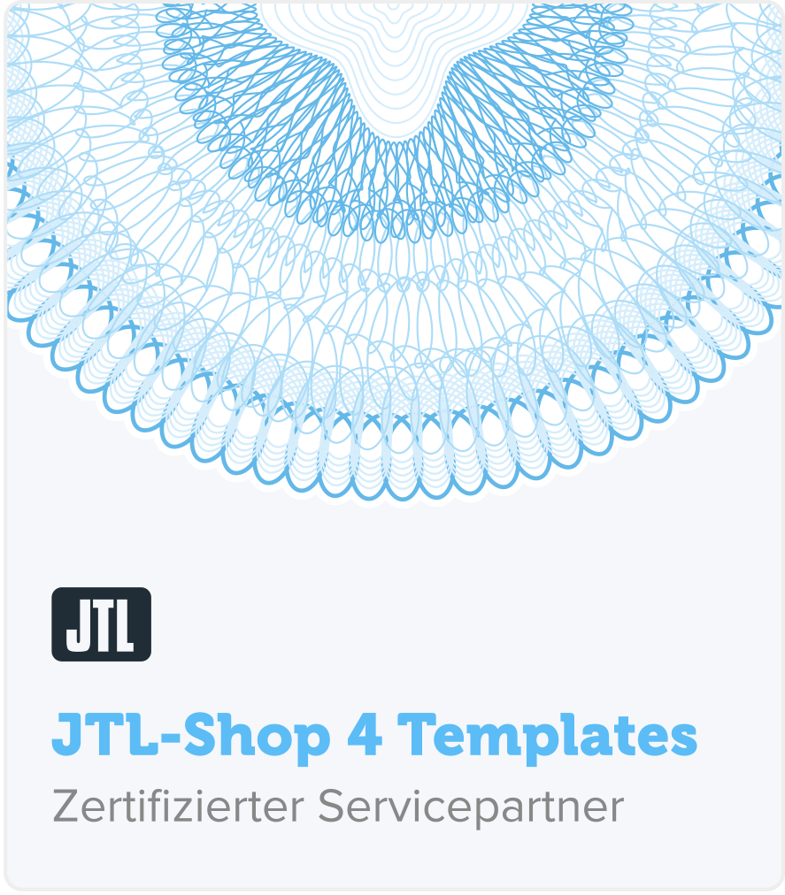 zertifizierter JTL Shop Templates Servicepartner