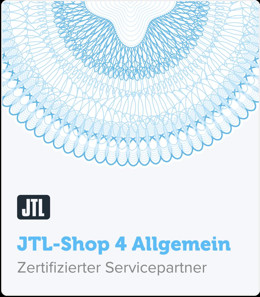 zertifizierter JTL Shop Servicepartner
