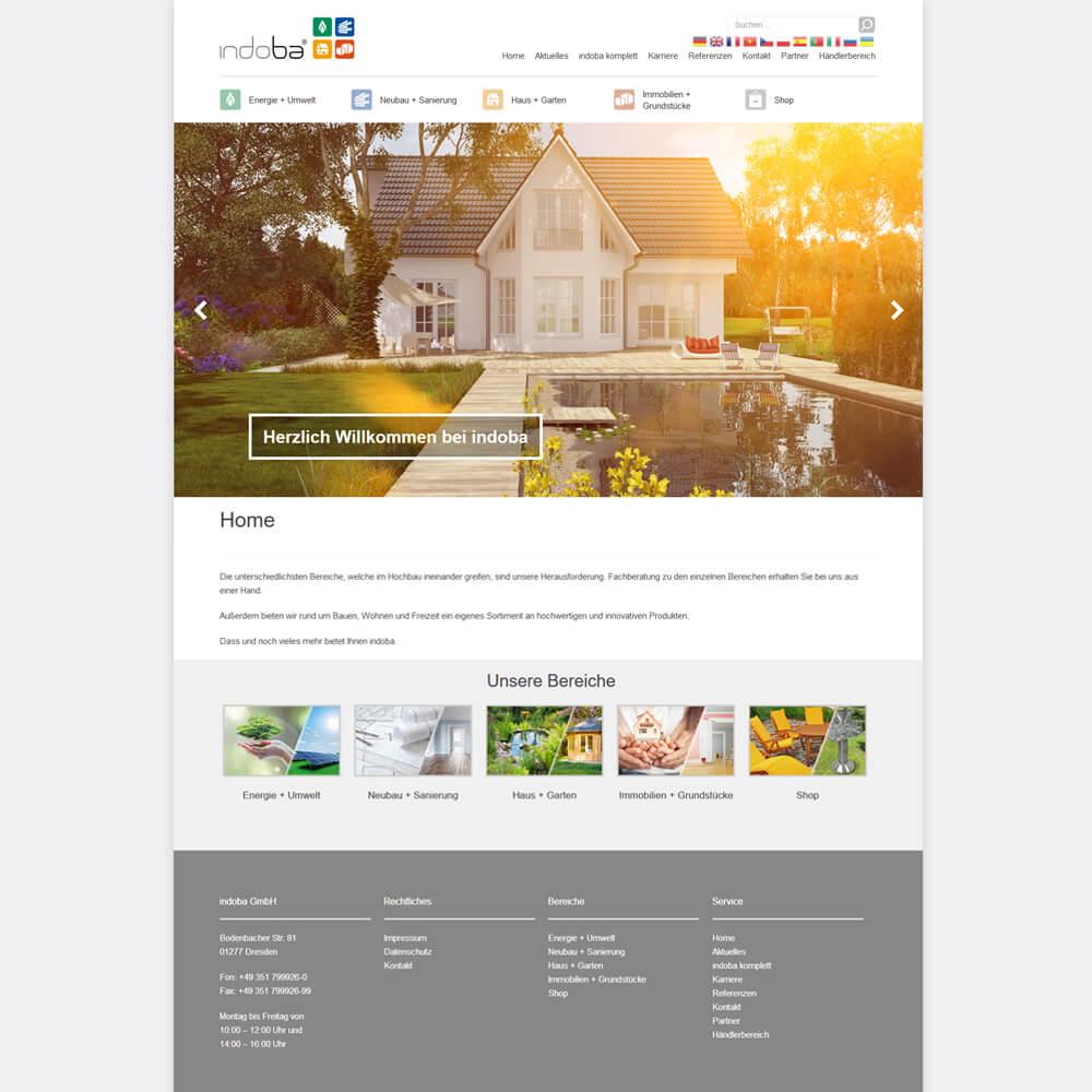 indoba.com - Relaunch auf WordPress Basis