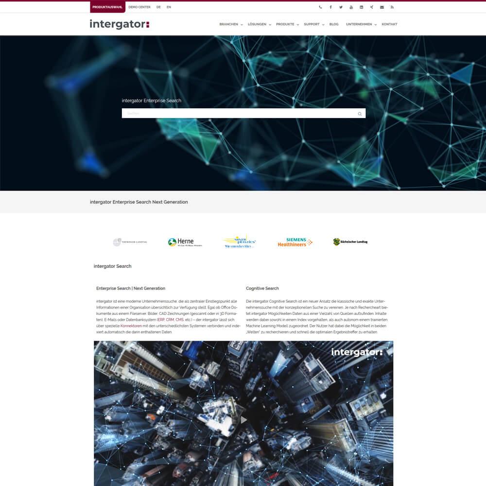 Relaunch auf WordPress - intergator.de