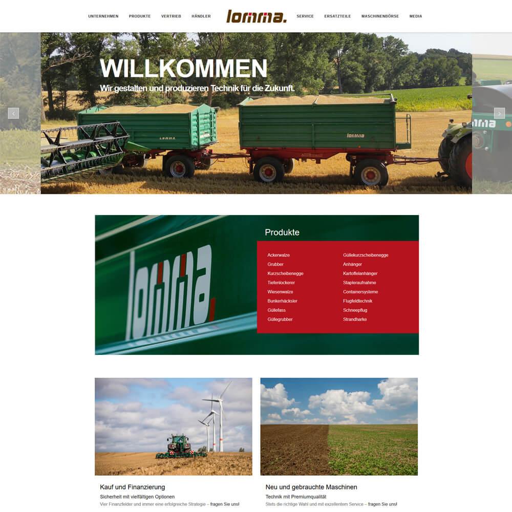 Relaunch auf WordPress - lomma-sachsen.de