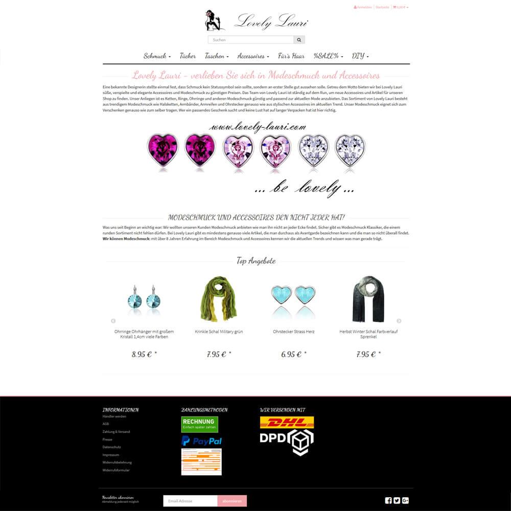 Migration JTL Shop 3 auf JTL-Shop 4 - lovely-lauri.com